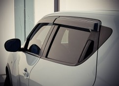 Ветровики (Дефлекторы окон)  Nissan Juke 2012-,