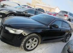 Ветровики Audi A6 Sd (4G,C7) 2011