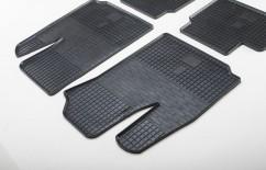 Stingray Коврики в салон резиновые Fiat Doblo 01- (design 2016) (2 шт)