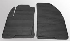 Коврики в салон резиновые Ford Fiesta 02-08/Ford Fusion 02-/ Mazda 2 02- (2 шт)