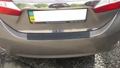 AVTM Наклакда на задний бампер Toyota Corolla (2013-)