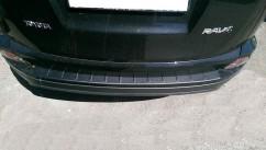 AVTM Наклакда на задний бампер Toyota Rav 4 (2015-2017)
