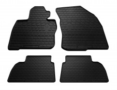 Stingray Коврики в салон резиновые Honda Civic hatchback 06- (design 2016) (4 шт)