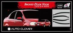 Дефлекторы окон Chevrolet Aveo Sd 2006-2011/ZAZ Vida 2012-