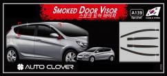 Дефлекторы окон Hyundai Accent Hb 2011-