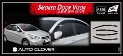 Дефлекторы окон Hyundai Accent Sd 2011-