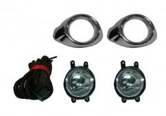 G-plast Противотуманные фары для Ford Focus 2011- Хром (комплект - 2шт)