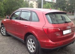 Ветровики Audi Q5 5d (8R) 2008-2012; 2012