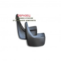 Брызговики RENAULT Duster 2012-> 2шт. задние
