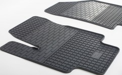 Коврики в салон резиновые Kia Rio III 11-/Hyundai Accent 10- (2 шт)