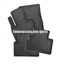Коврики в салон резиновые Kia Rio III 11-/Hyundai Accent 10- (4 шт)