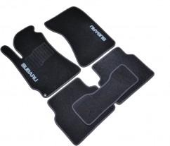 AVTM Коврики в салон текстильные Subaru Forester (2002-2008) Черные, комплект 5шт