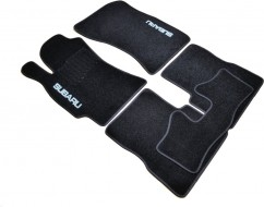 AVTM Коврики в салон текстильные Subaru Forester (2008-2012) Черные, комплект 5шт,