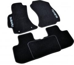 AVTM Коврики в салон текстильные Subaru Forester (2013-) Черные,  комплект 5шт