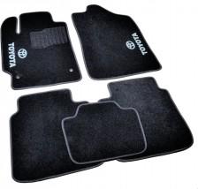 AVTM Коврики в салон текстильные Toyota Camry (2006-2011) Черные,  комплект 5шт