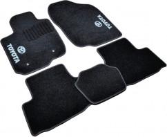 AVTM Коврики в салон текстильные Toyota RAV4 (2005-2013) Черные,  комплект 5шт