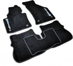AVTM Коврики в салон текстильные Volkswagen Caddy (2004-) Черные, комплект 5шт