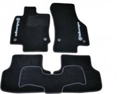 AVTM Коврики в салон текстильные Volkswagen Golf VII (2012-) Черные,  комплект 5шт