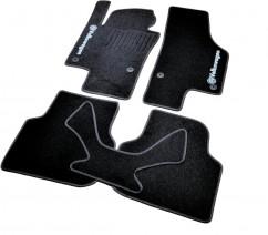 AVTM Коврики в салон текстильные Volkswagen Jetta (2010-) Черные,  комплект 5шт