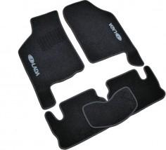 AVTM Коврики в салон текстильные ВАЗ 2109; 21099 (1987-2011) Черные, комплект 5шт