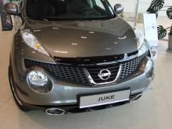 Дефлектор капота  Nissan Juke 2011-