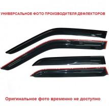 Дефлекторы окон Kia Sportage 2015 -> С Хром Молдингом
