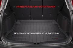 Коврик в багажник премиум  Tesla Model X 2017-, черный с 3 рядом