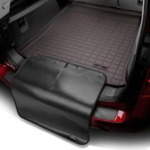 Коврик в багажник премиум  Toyota Sequoia 2007-12, какао, с накидкой 5 мест