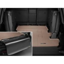 WeatherTech Коврик в багажник премиум  Toyota Land Cruiser 200/Lexus LX 570 2007- , бежевый, с накидкой 7мест
