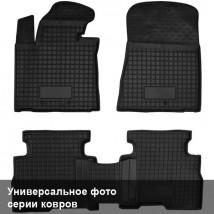 Avto Gumm Коврики в салон Volkswagen T5 (2010-) Caravelle 3ряд без печки
