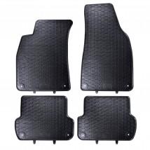 Ковры салона резиновые AUDI A4 B6 (00-04) / AUDI A4 B7 (04-08) / SEAT EXEO (08-13) (4шт.)