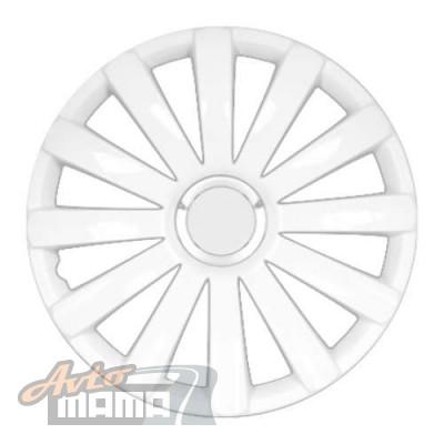 """Argo Колпаки 15"""" SPYDER PRO WHITE (Комплект 4шт.) - Картинка 1"""