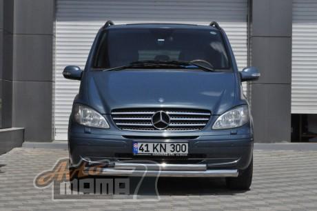 Can Otomotiv Кенгурятник (защита бампера) Mercedes Vito (2003-2010) /ус двойной - Картинка 1