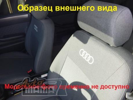 Elegant Авточехлы для салона Audi A6 (C5) раздельнаяий c 1997-2004  Черный - Картинка 1