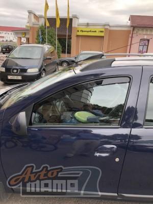Heko Дефлекторы окон (ветровики) Chevrolet Aveo 2011 -> 5D / вставные, 4шт/ - Картинка 3