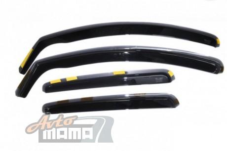 Heko Дефлекторы окон (ветровики) Chevrolet Aveo 2011 -> 5D / вставные, 4шт/ - Картинка 1