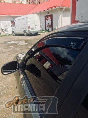 Heko Дефлекторы окон (ветровики) Mitsubishi Lancer 10 2007 -> 4D / клеющ-ся, кт - 4шт/ - Картинка 4