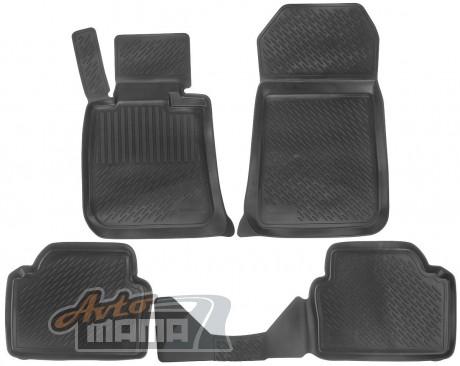 Lada Locker Коврики в салон полиуритановые BMW 3 серия sd (05-) серые - Картинка 1
