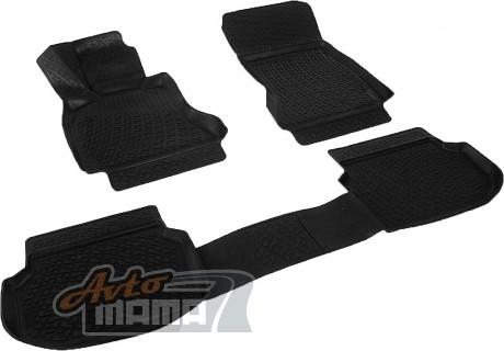 Lada Locker Коврики в салон полиуритановые BMW 5 VI (F10,F11,F07)  sd (2013-)  - Картинка 1