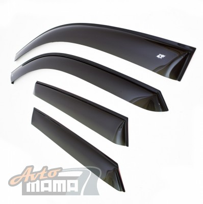 Cobra Tuning Ветровики Skoda Superb I Sd 2002-2008  - Картинка 1