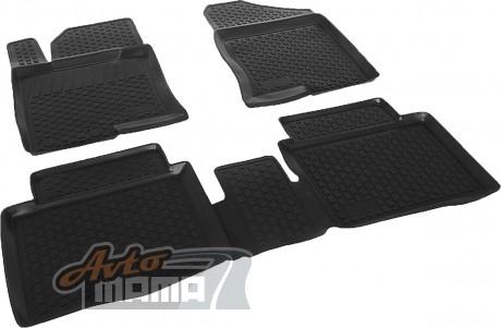 Lada Locker Коврики в салон полиуритановые Hyundai Sonata i45 (10-) - Картинка 1