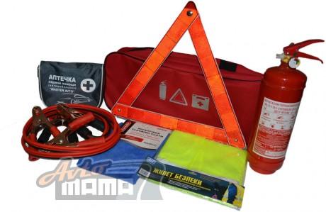 AVTM Автомобильный набор техпомощи AVTM (красный) - Картинка 1