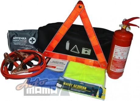 AVTM Автомобильный набор техпомощи AVTM (черный) - Картинка 1