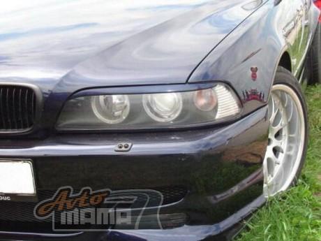 """Spirit Реснички на фары BMW 5 E39 """"Прямые"""" - Картинка 1"""