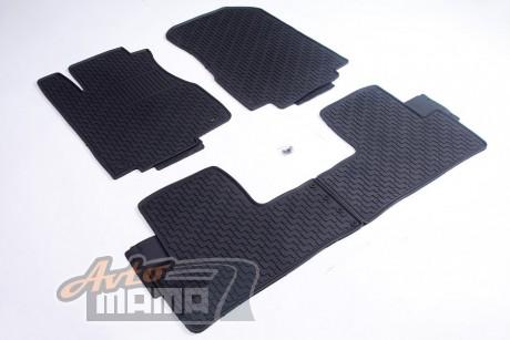 AVTM Коврики в салон  Honda CR-V 2012-2017 / черные комплект  - 4шт - Картинка 1