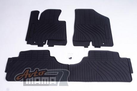 AVTM Коврики в салон  Kia Sportage/Hyundai ix35 2010-2015 черные комплект  4шт - Картинка 1