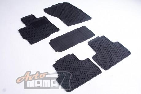 AVTM Коврики в салон  Mitsubishi Outlander 2012-черные комплект  5шт - Картинка 1