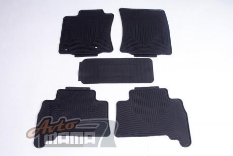 AVTM Коврики в салон  Toyota Prado 150 2009-/2013- черные комплект  5шт - Картинка 1