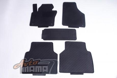 AVTM Коврики в салон  VW Tiguan 2007-2016 черные комплект  5шт - Картинка 1