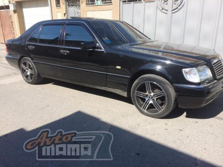 Cobra Tuning  Ветровики Mercedes Benz S(SL)-klasse (W140) Long  Sd 1990-1998  - Картинка 1
